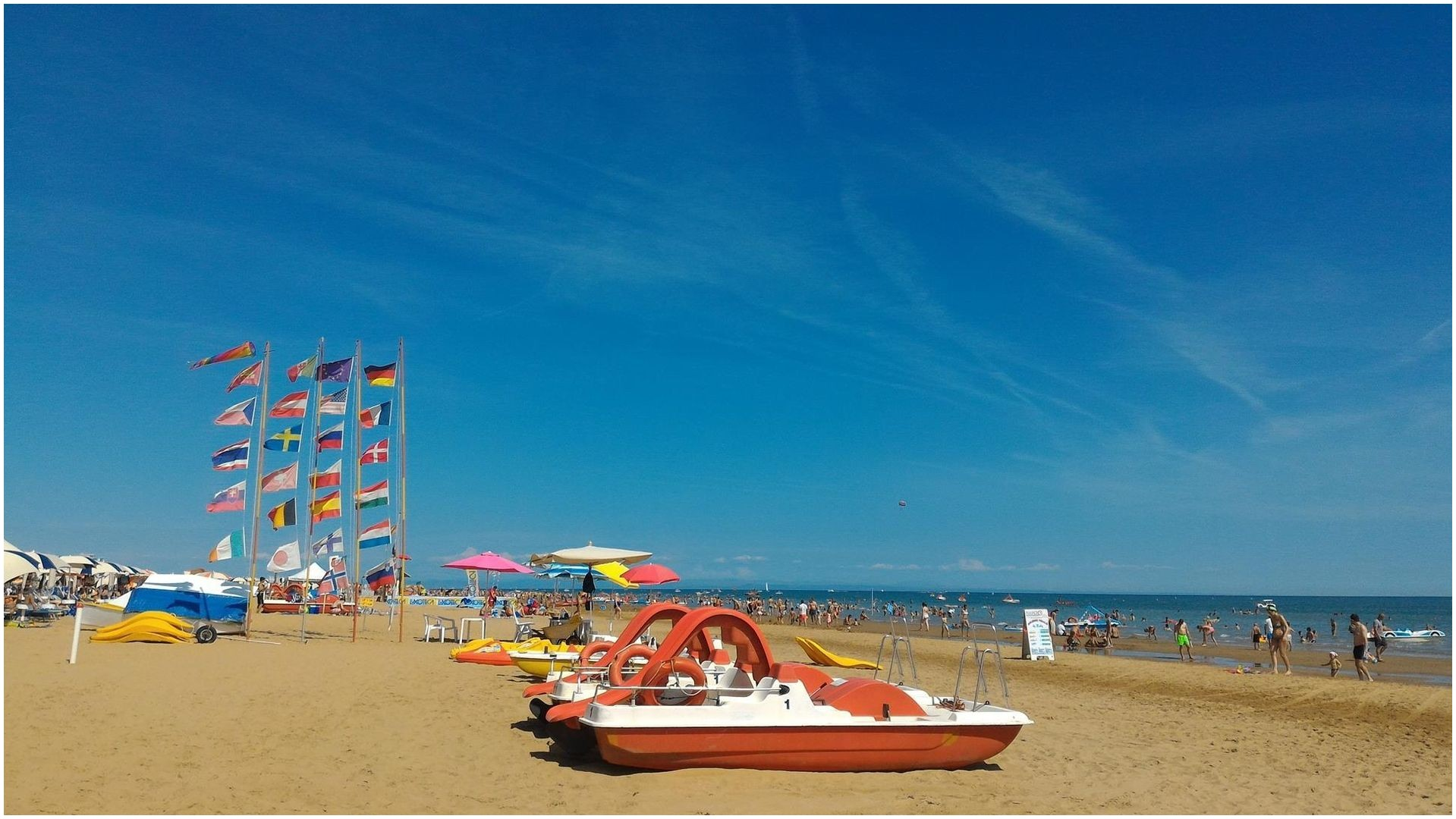 BIBIONE Italy s second beach Bibione