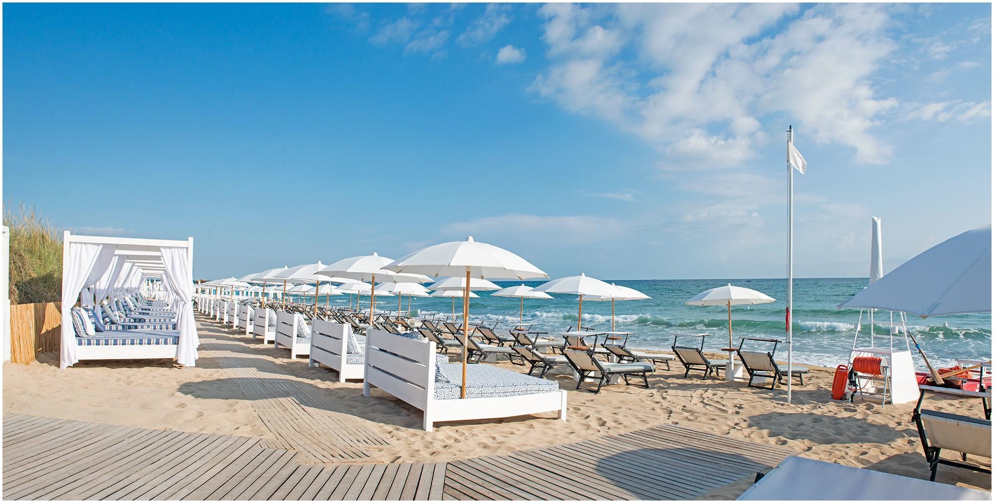 Beach Clubs In Puglia Italy Unique Le Nostre Due Spiagge Coccaro Beach E Le Palme Beach Services 5