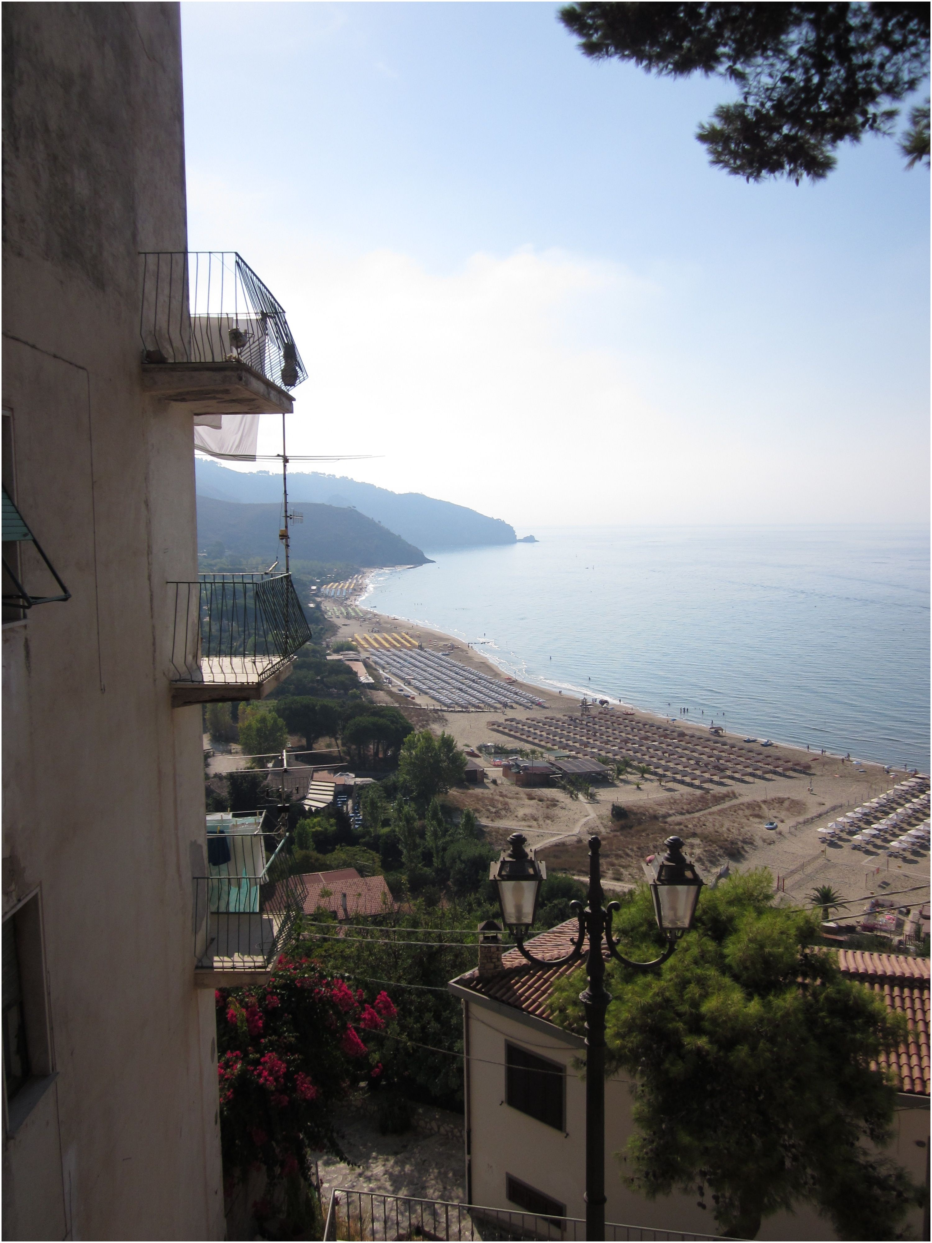 Sperlonga Beach Italy in September
