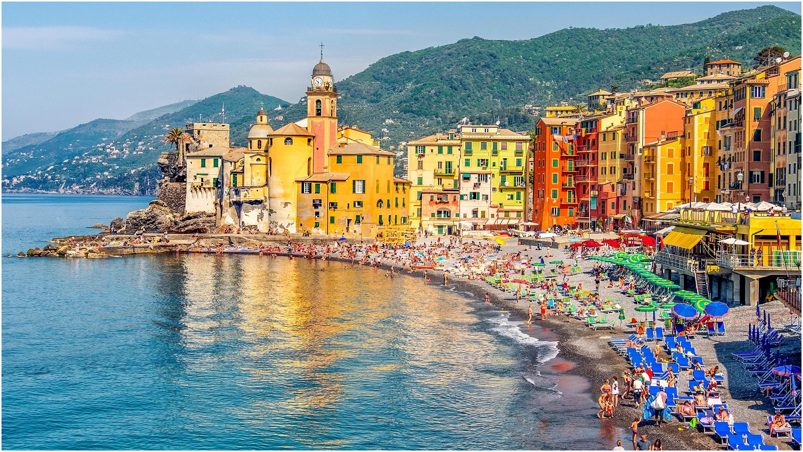 We d love to visit a quiet Italian town by the sea in September