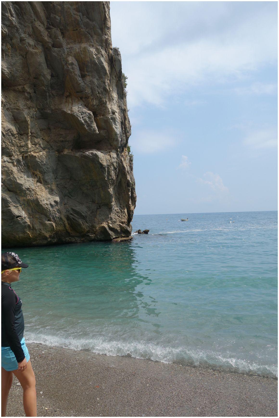 Marina di Praia beach Amalfi coast