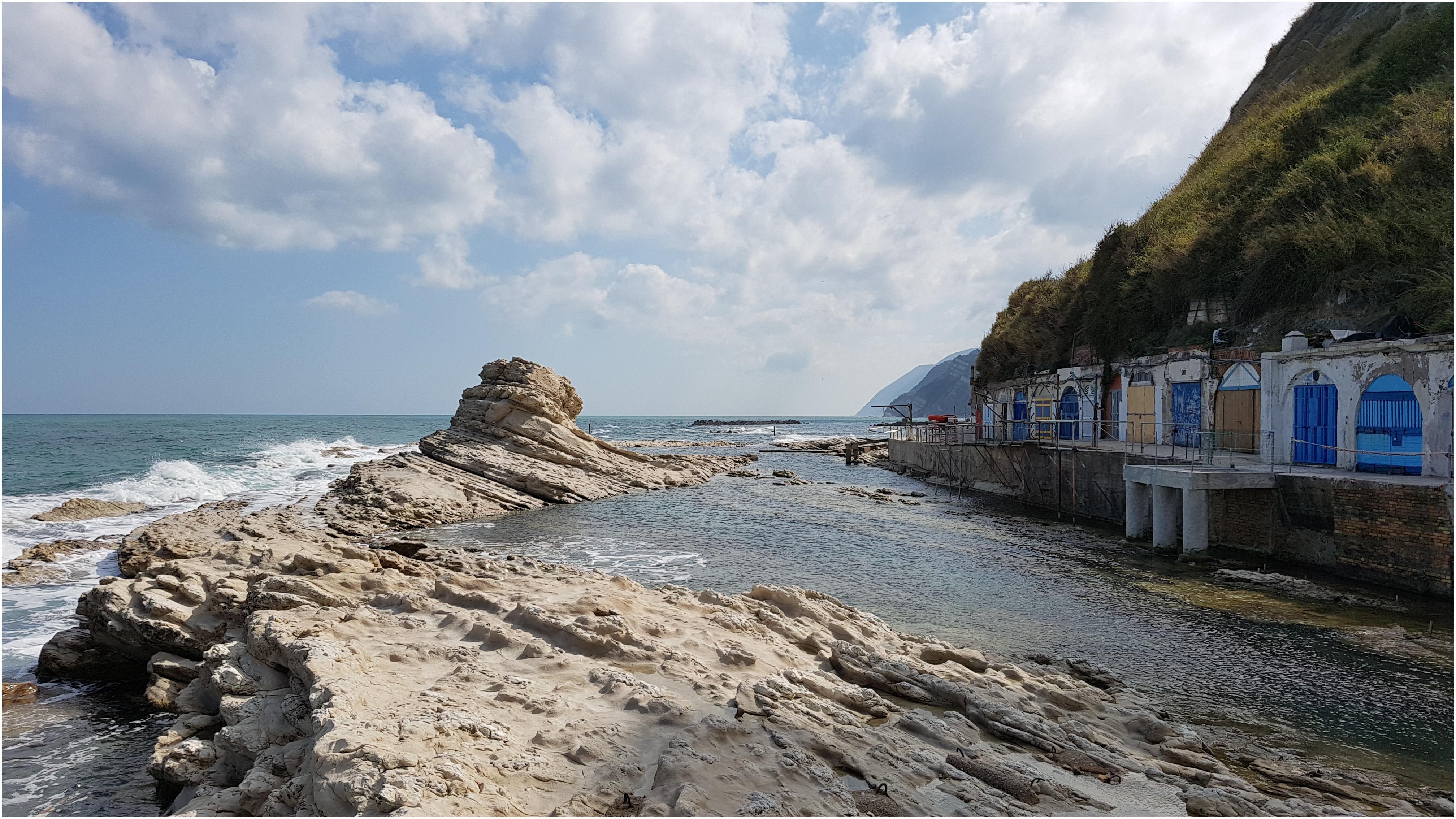 Beach In Ancona Italy