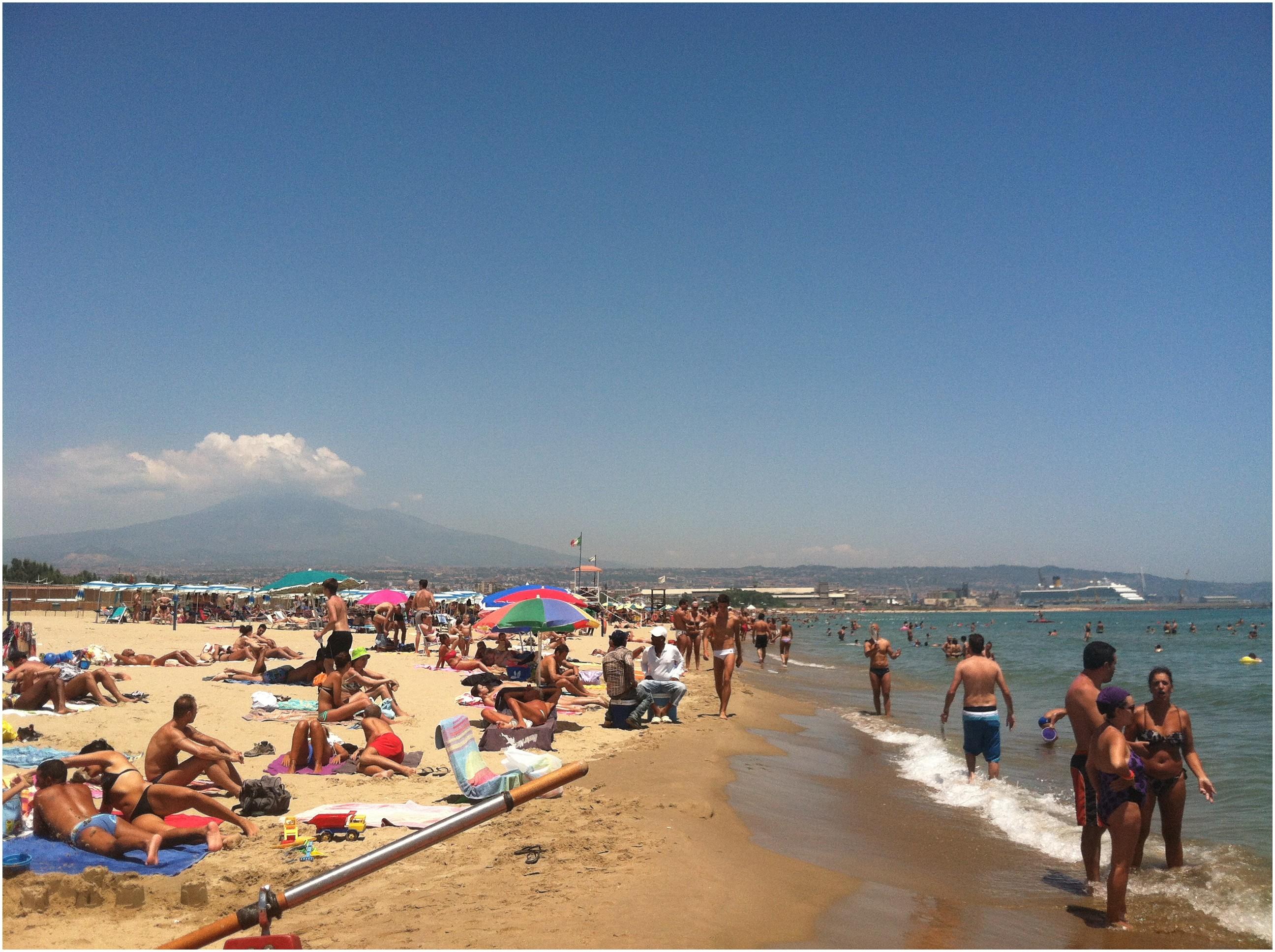 Beach In Catania Italy Luxury Arrivederci Catania