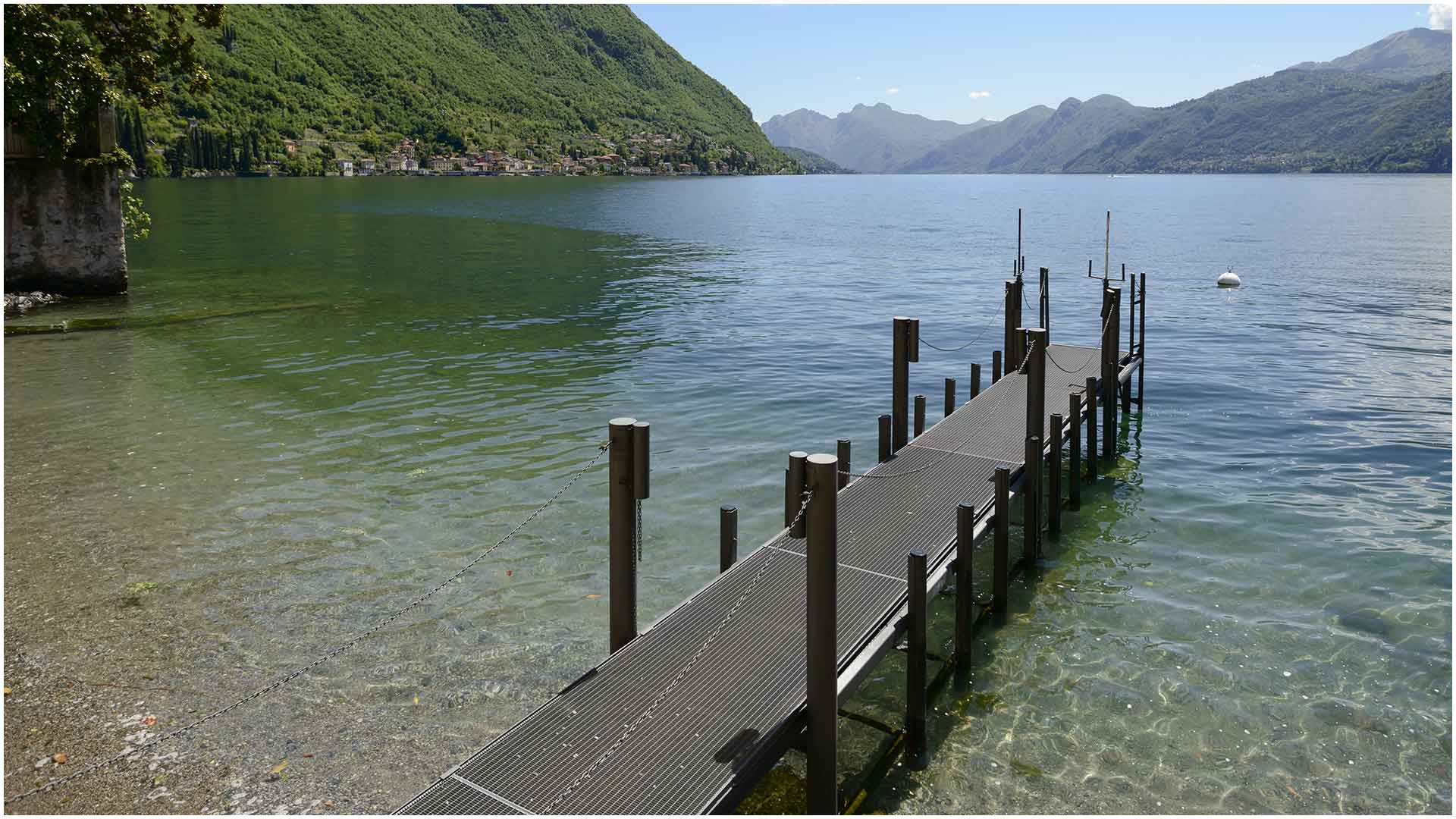 beach north lake lecco