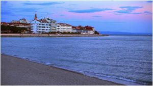 Beach In Grado Italy Lovely Looking at the Empty Beach In Grado Italy Friuli Venezia Stock
