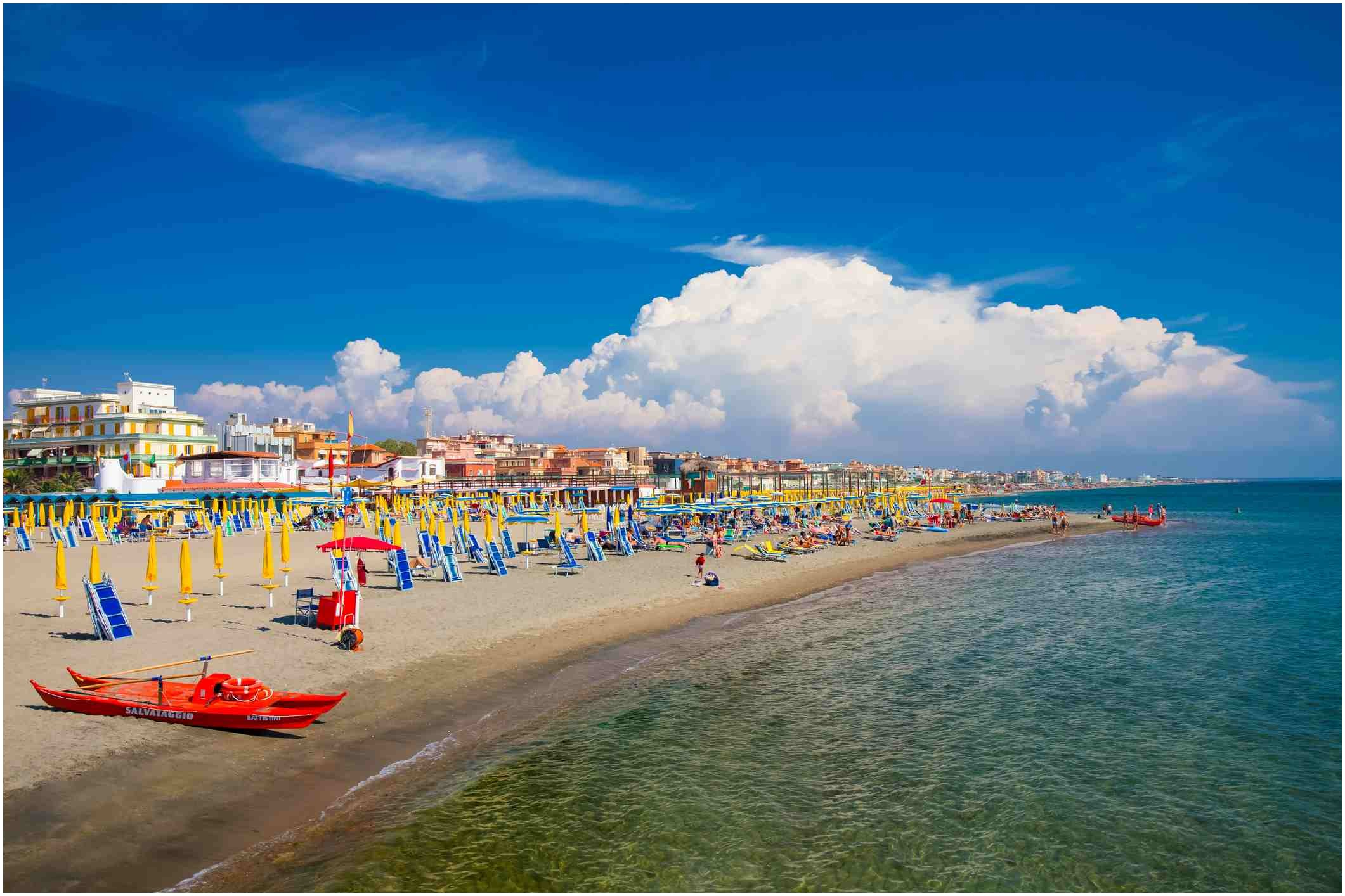 Beach In Italy Near Rome Beautiful the Best Beaches Near Rome Italy