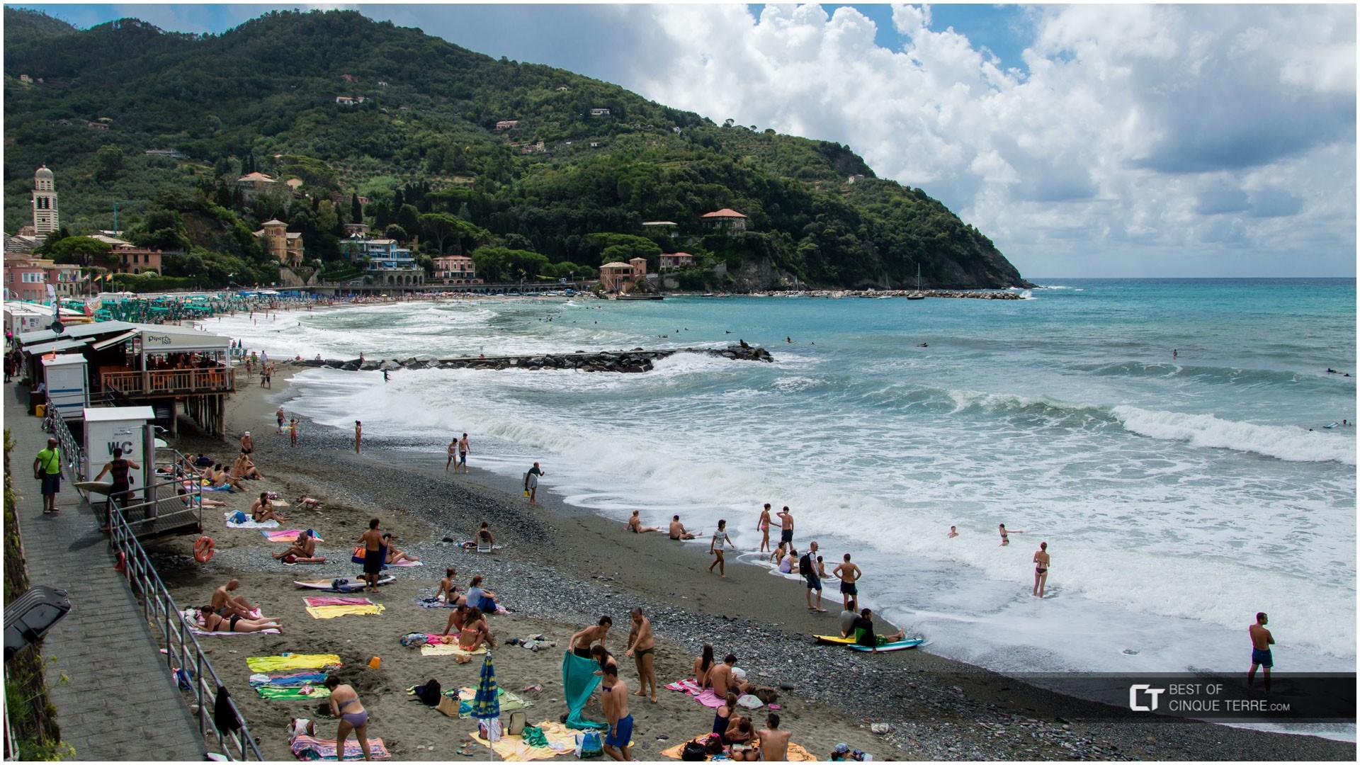 Beach Levanto Italy