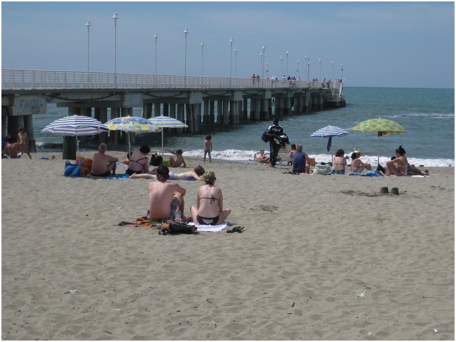 Beach In Massa Italy