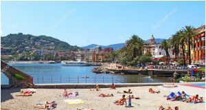 Beach In Rapallo Italy Awesome Beach In Rapallo Italy – Stock Editorial © Karnizz