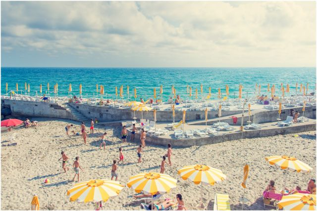 Beach In San Remo Italy Inspirational Gray Malin S Italy Travel Journals San Remo