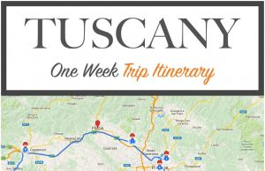 Beach Italy Map Fresh See the Best Of Tuscany In E Week Tuscany Italy