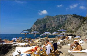 Beach Vacation In Italy Beautiful La Fontelina Beach Club Capri Italy