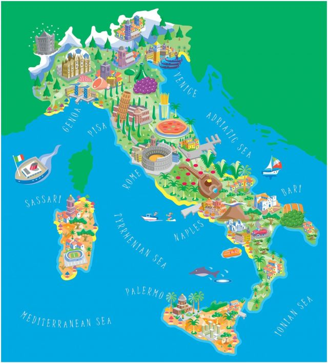 Best Beach In Italy Map Awesome Map the Us Canadian Border Unique Map Italy Map Italy 0d