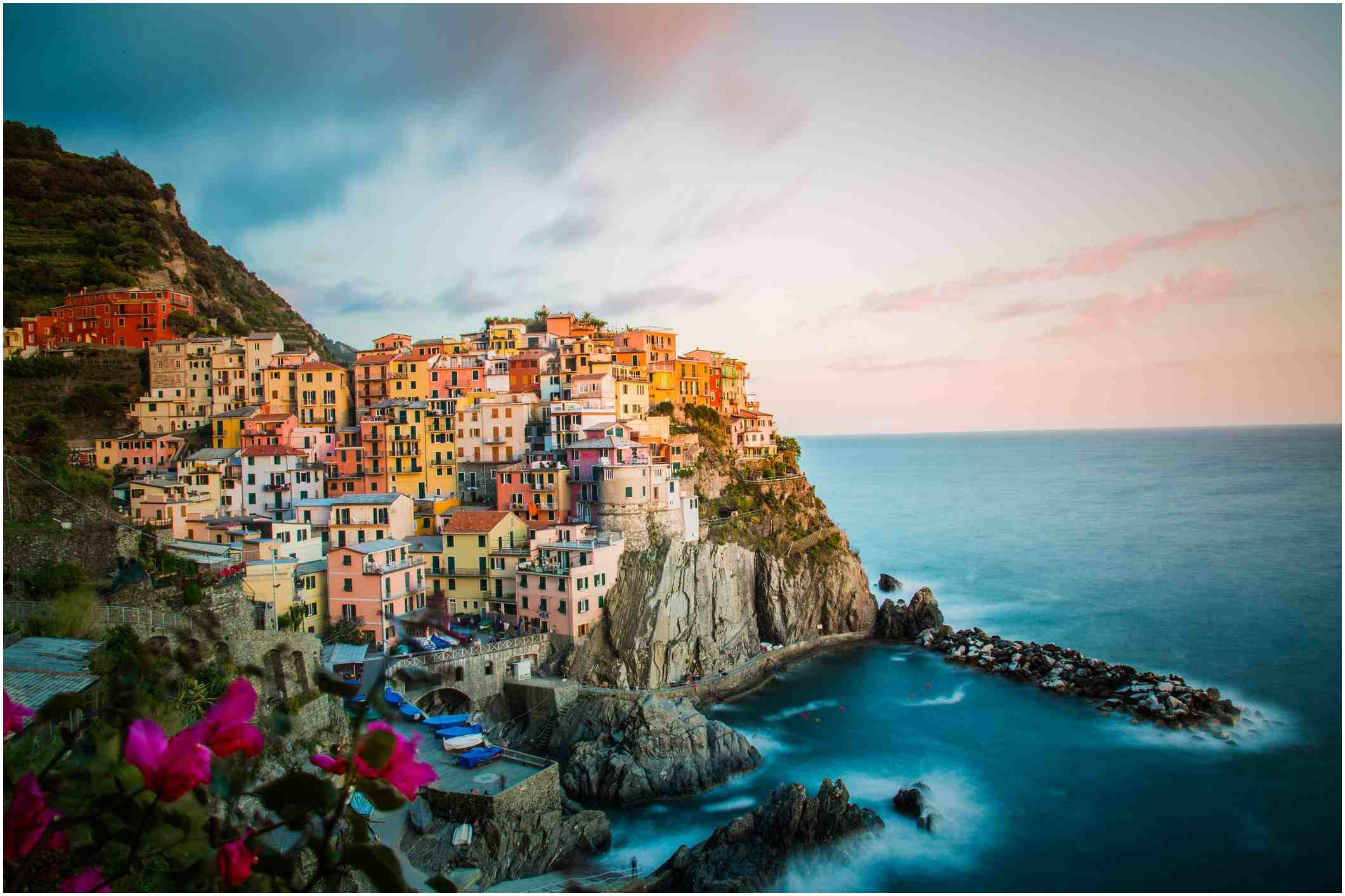 Best Train Private Full Day Cinque Terre Five Villages Train Tour via La Spezia