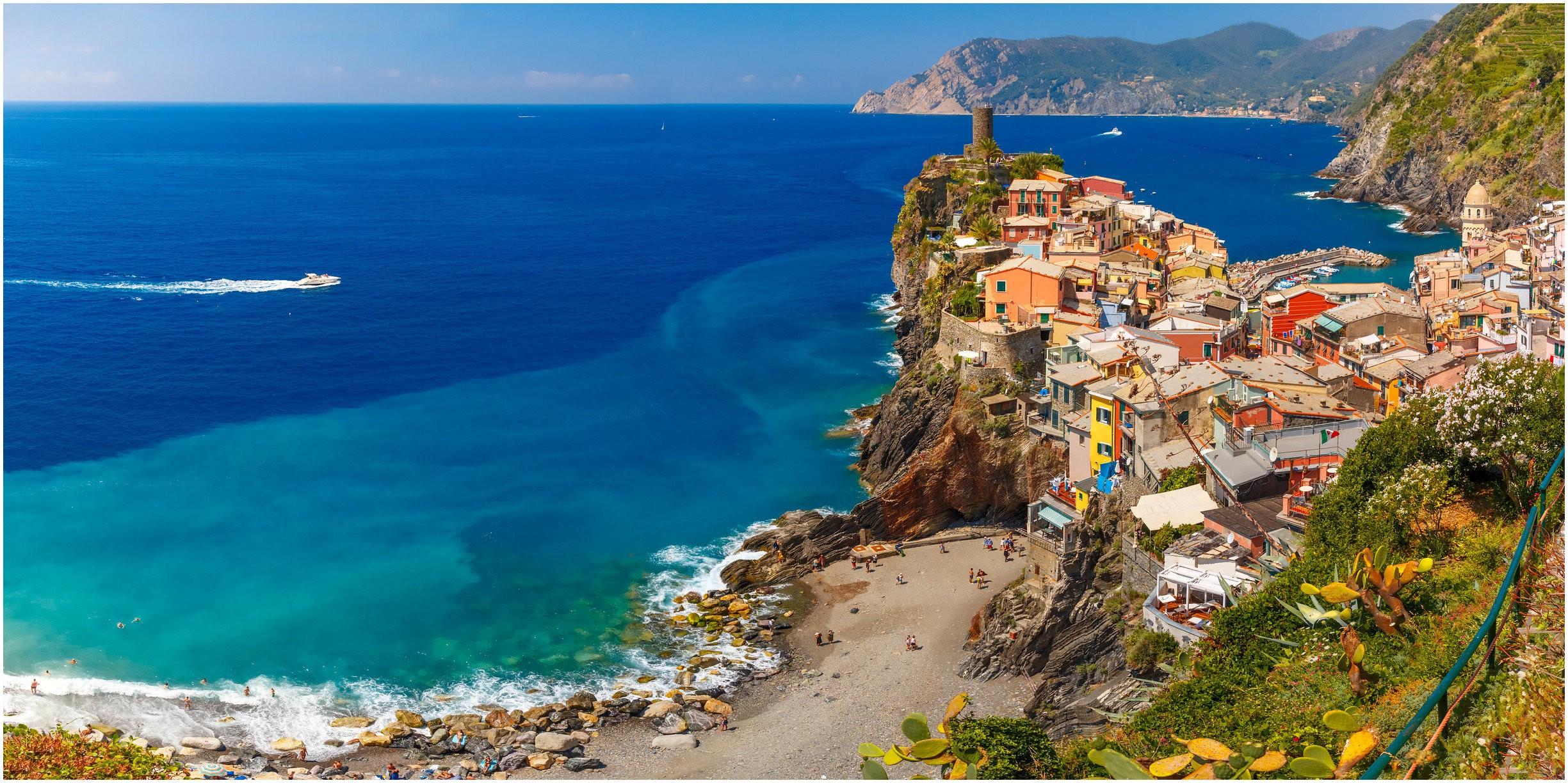Best Family Beaches Italian Riviera