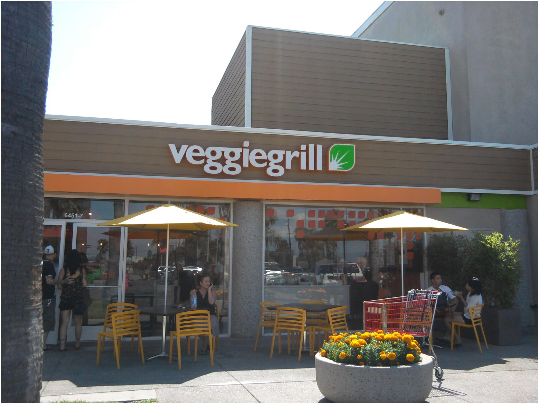 The Veggie Grill in Long Beach California