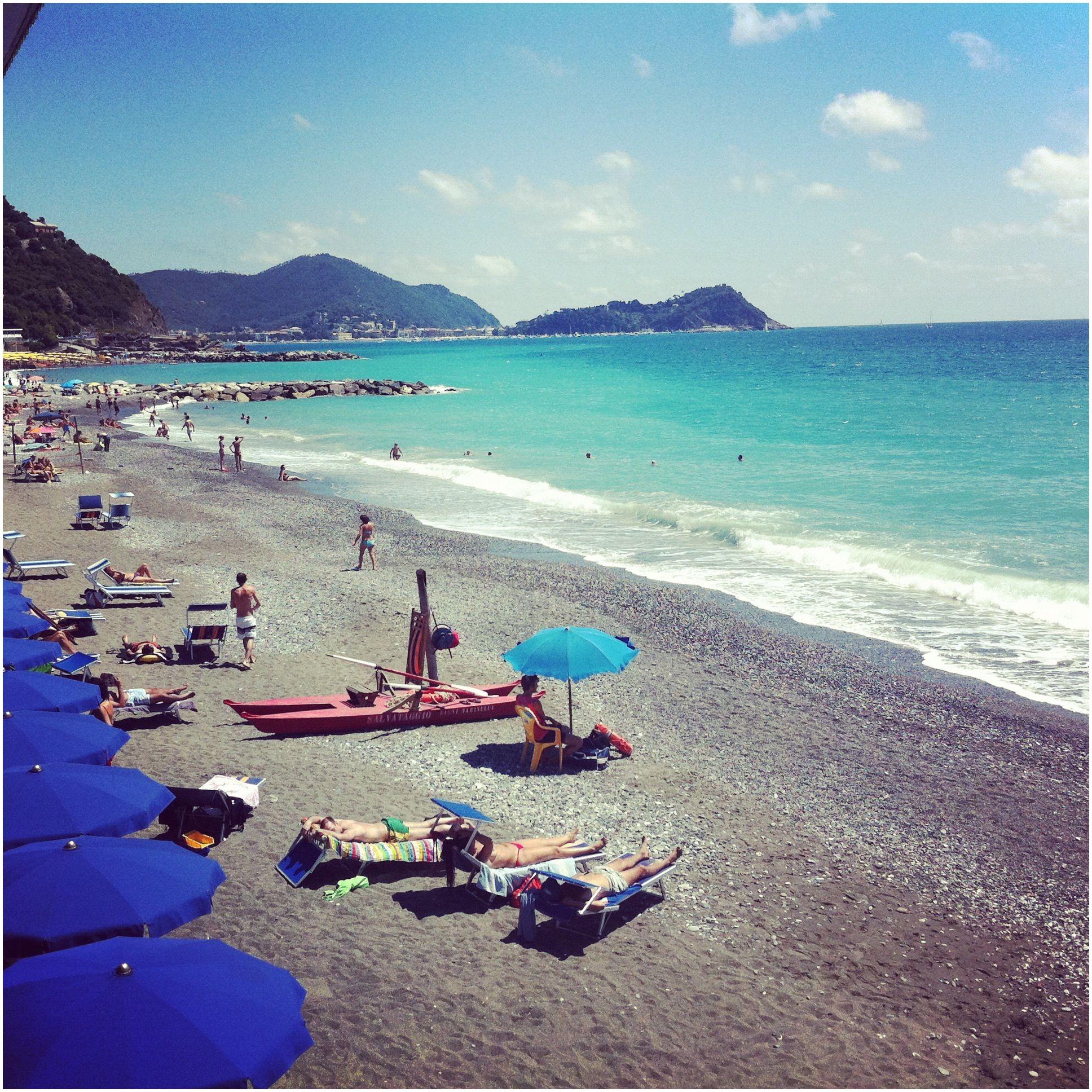 Lavagna beach Liguria Italy photo credits Livia Podestá lang=en