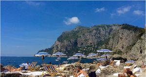 Great Beach In Italy Best Of La Fontelina Beach Club Capri Italy