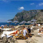 List Of Beautiful Beaches In Italy New La Fontelina Beach Club Capri Italy