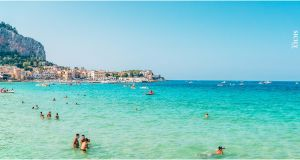 Mondello Beach In Palermo Italy Best Of Mondello Beach Sicily